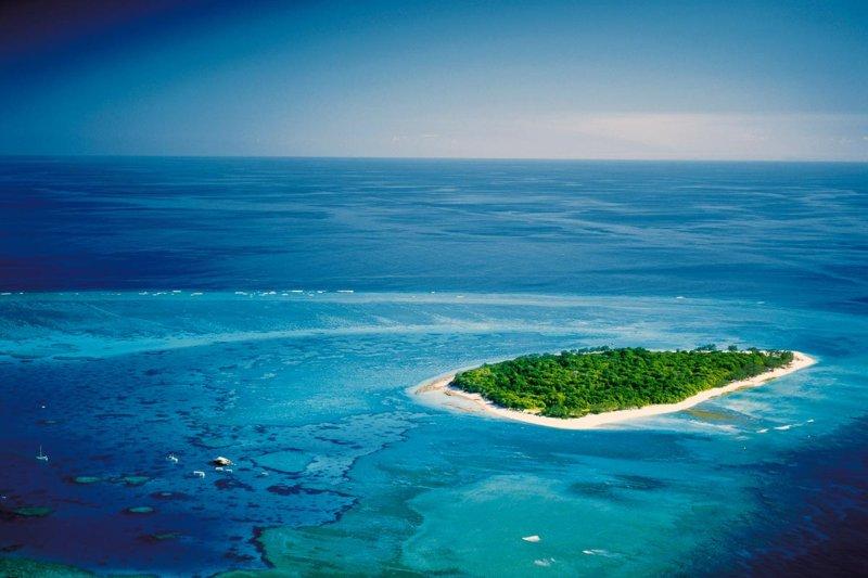"""ケアンズから約1時間で行けるグレートバリアリーフ! オーストラリアの""""緑の宝石""""グリーン島へ行こう"""