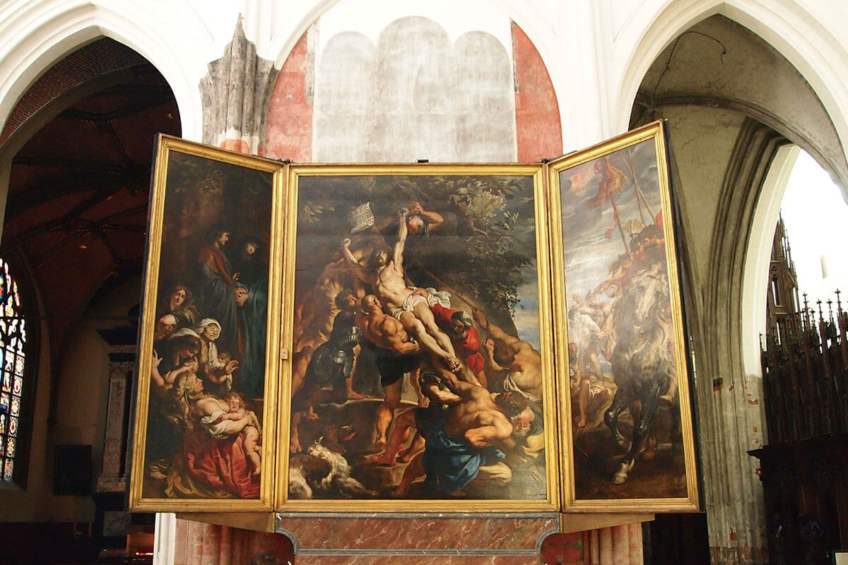 ノートルダム大聖堂 キリストの昇架