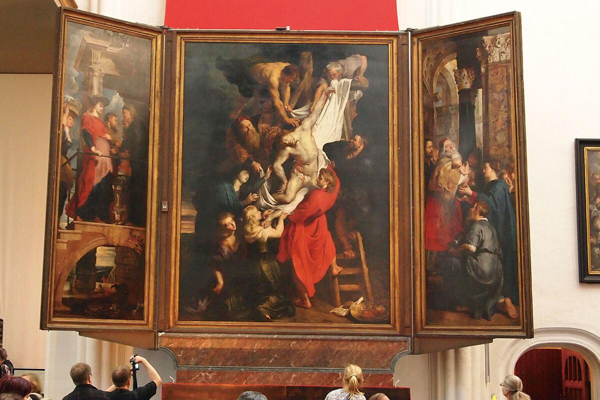ノートルダム大聖堂 キリストの降架