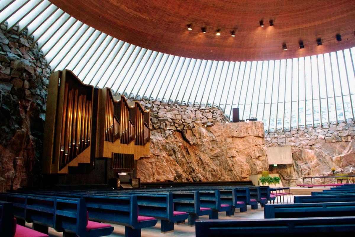 フィンランド・ヘルシンキ テンペリアウキオ教会