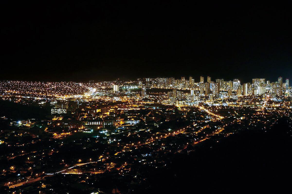 タンタラスの丘からの眺め