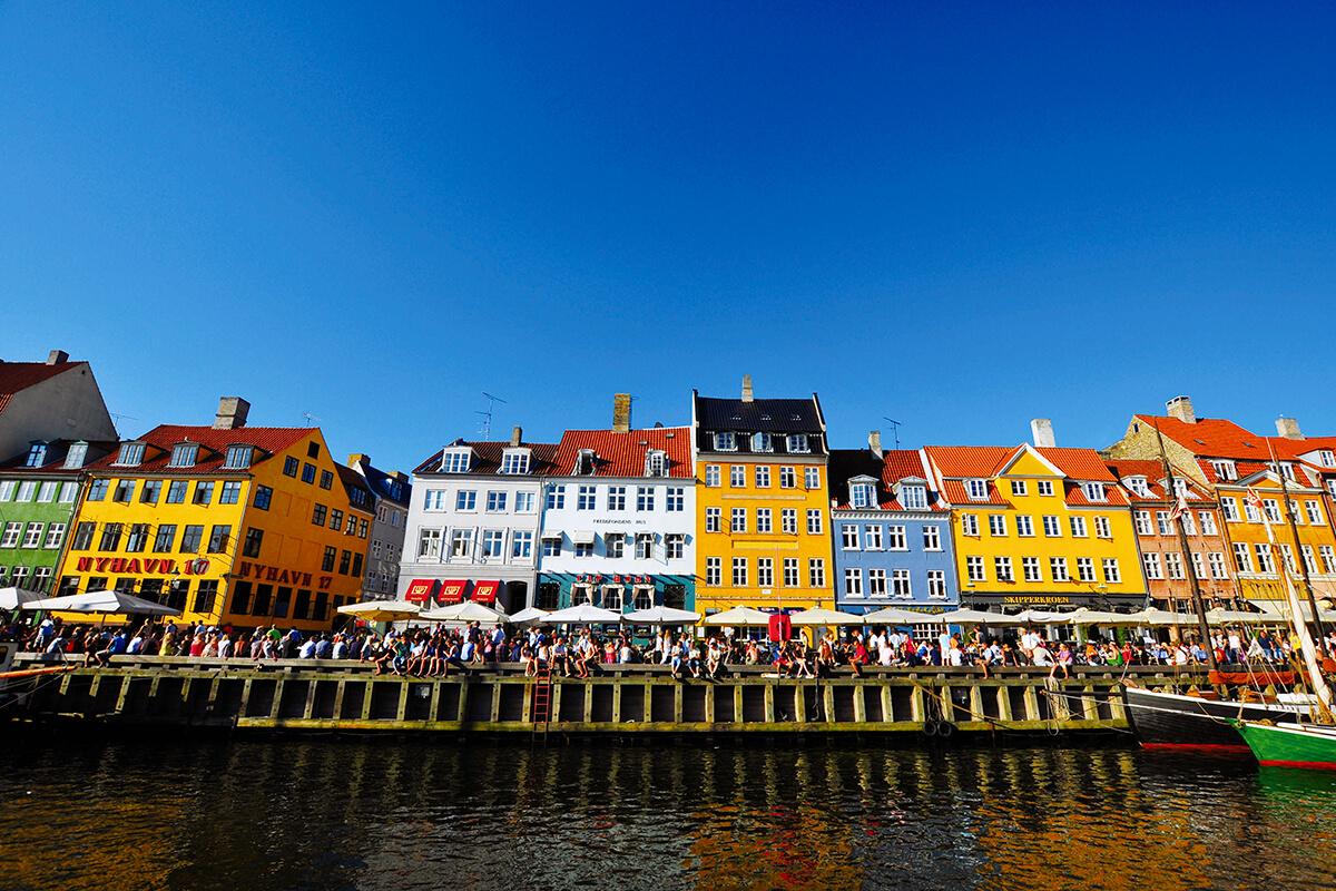 コペンハーゲンの港町 ニューハウン