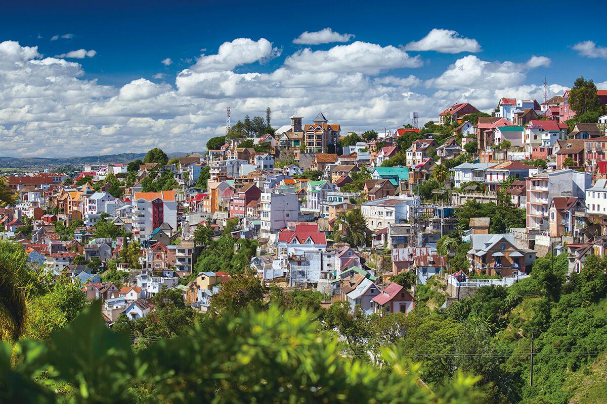 マダガスカル 街並み