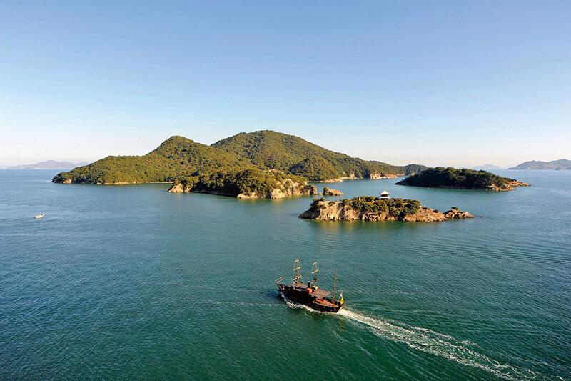 鞆の浦 仙酔島といろは丸