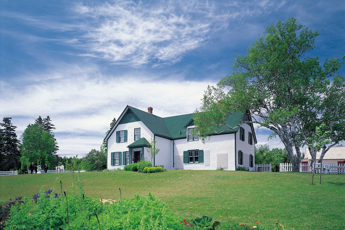 プリンスエドワード島 赤毛のアンの家