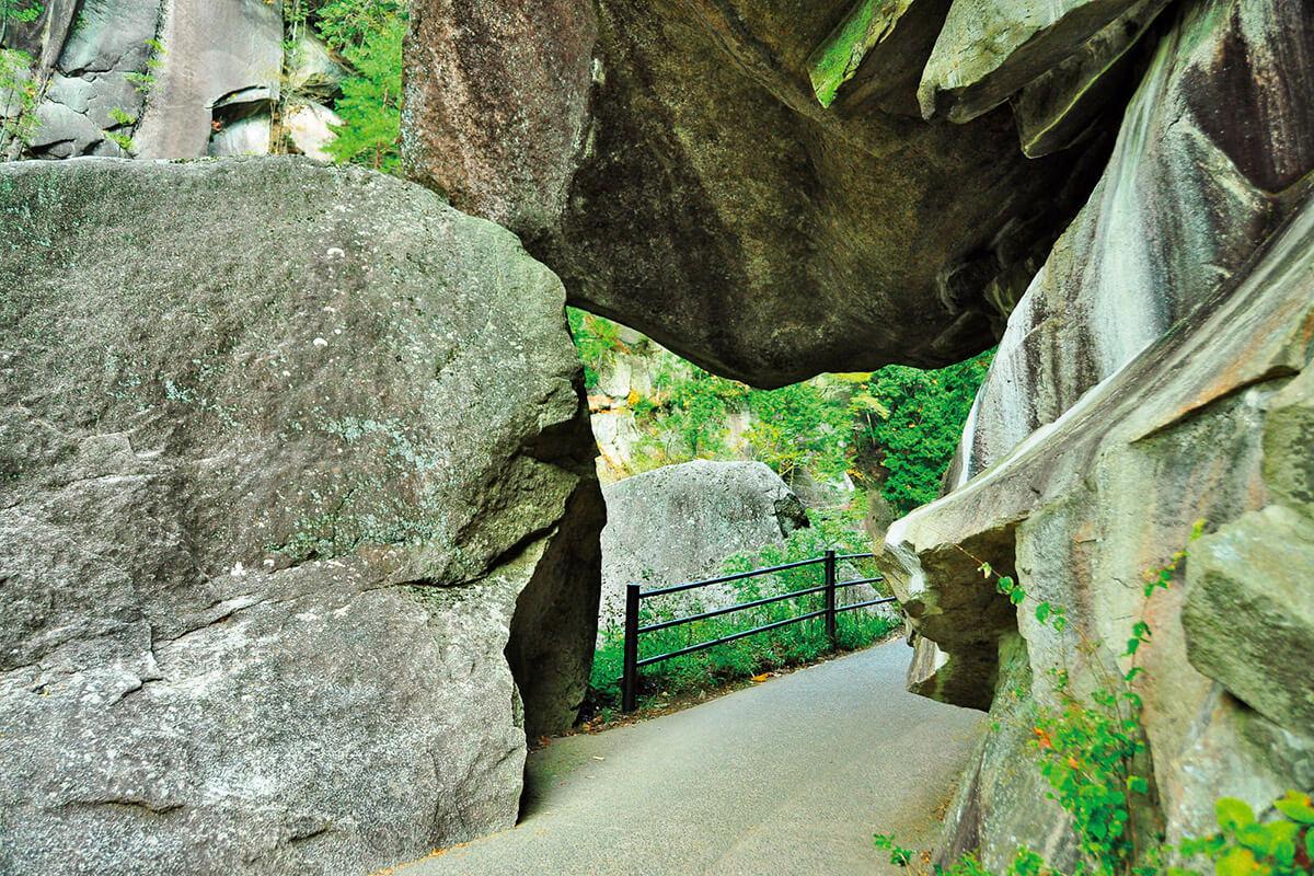 昇仙峡・石門