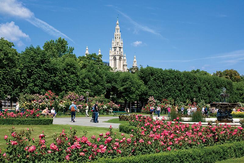 オーストリア フォルクス庭園