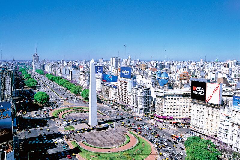 ブエノスアイレス 街並み