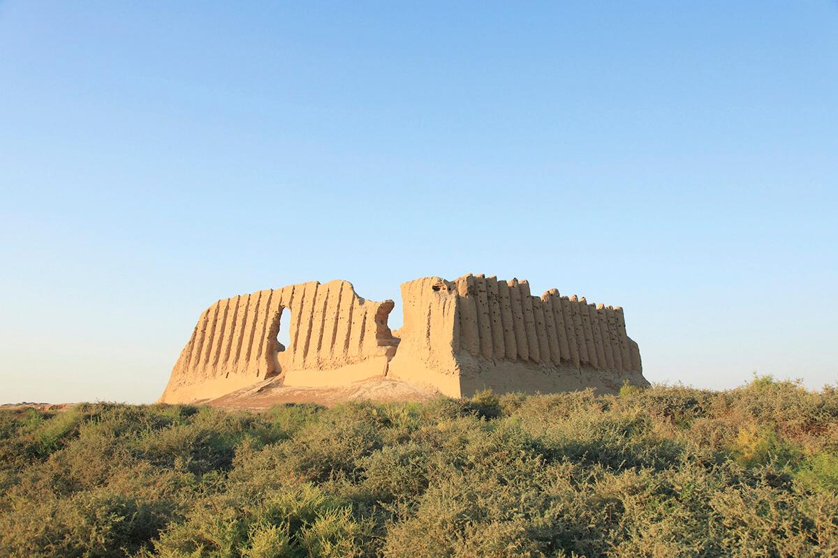 トルクメニスタン メルヴ遺跡
