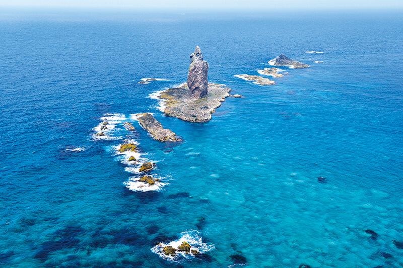 積丹半島 神威岩