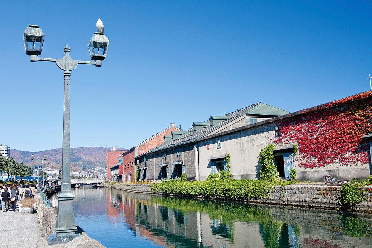北海道旅行におすすめ 歴史ある運河の街 小樽 美しい街並みやグルメ 夜景を楽しもう トリドリ