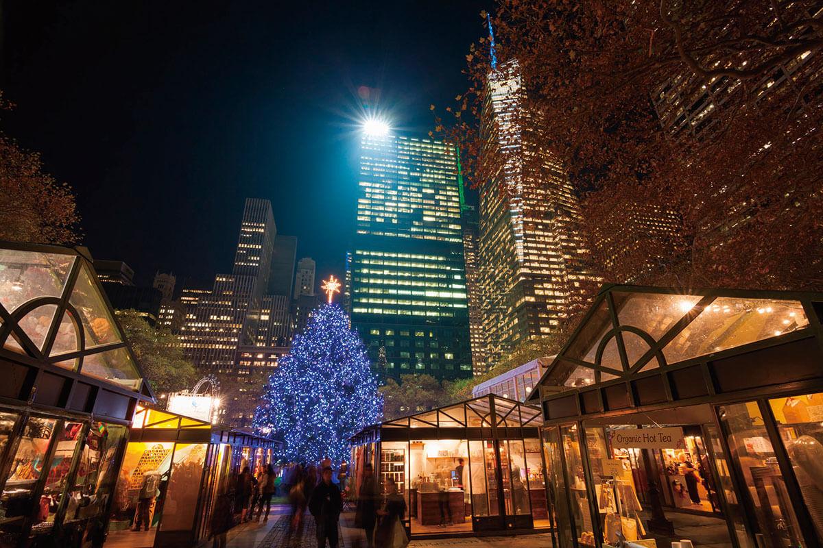 ブライアント・パーク クリスマスマーケット