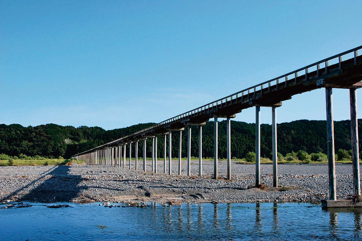 静岡県島田市・蓬萊橋