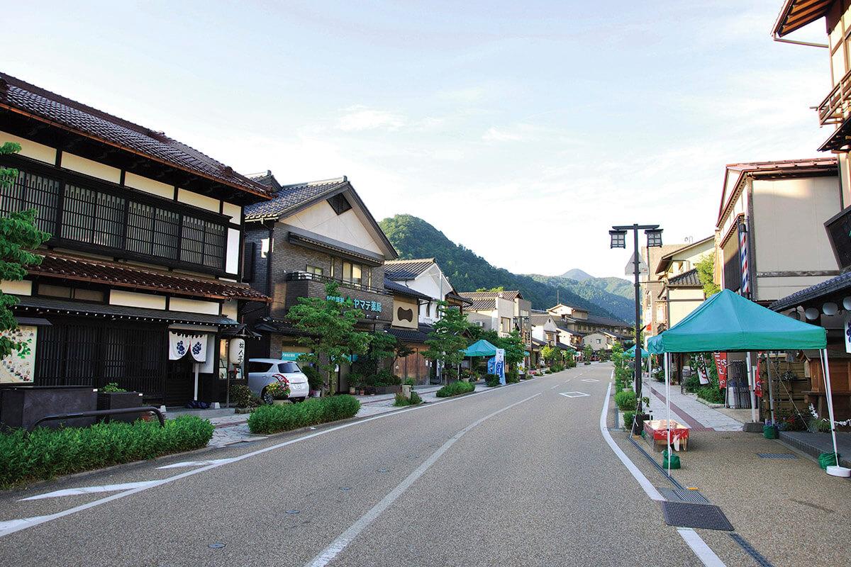 山中温泉・ゆげ街道