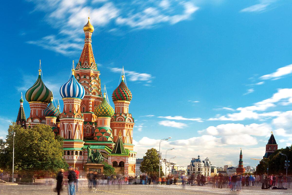 モスクワ 聖ワシリー大聖堂