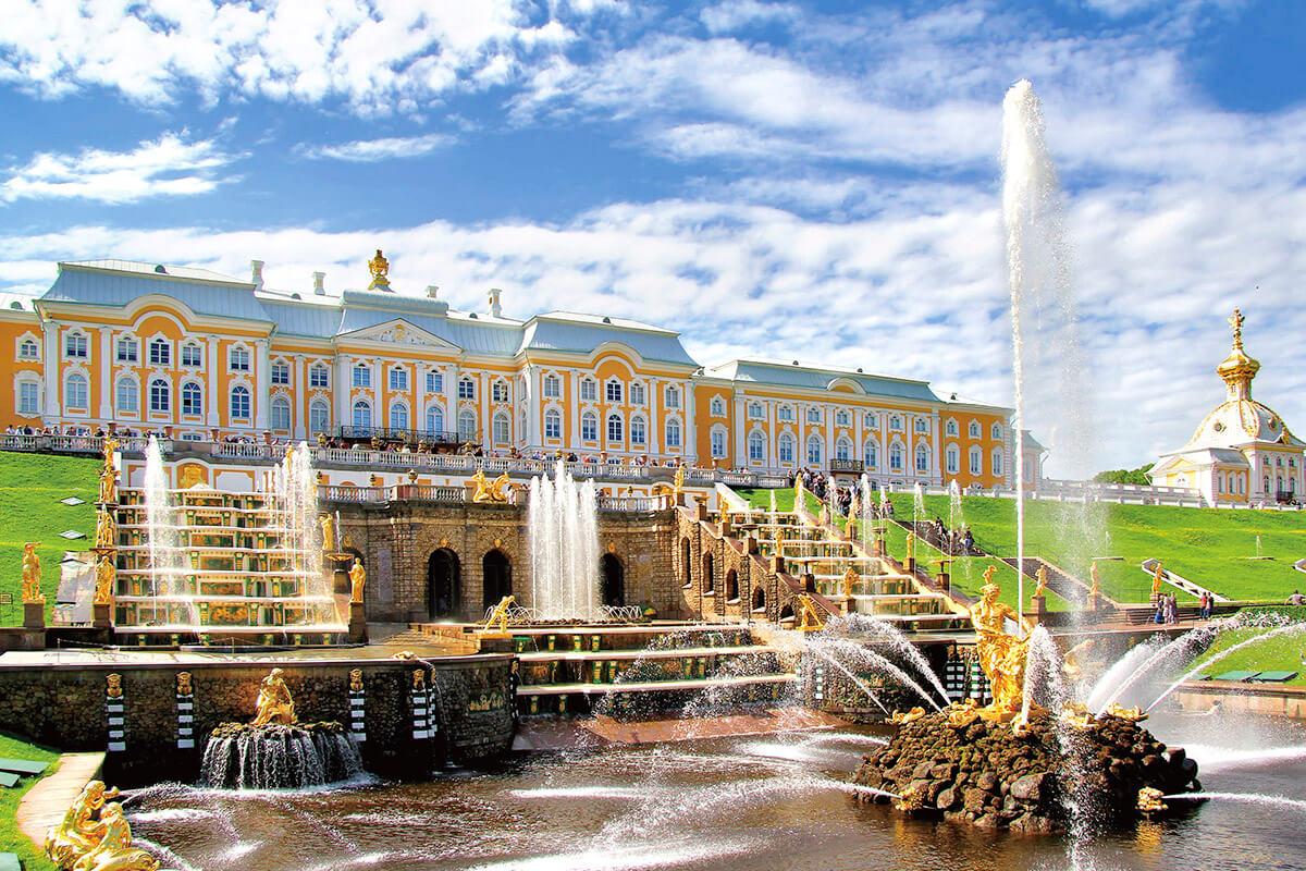 ペテルゴフ宮殿
