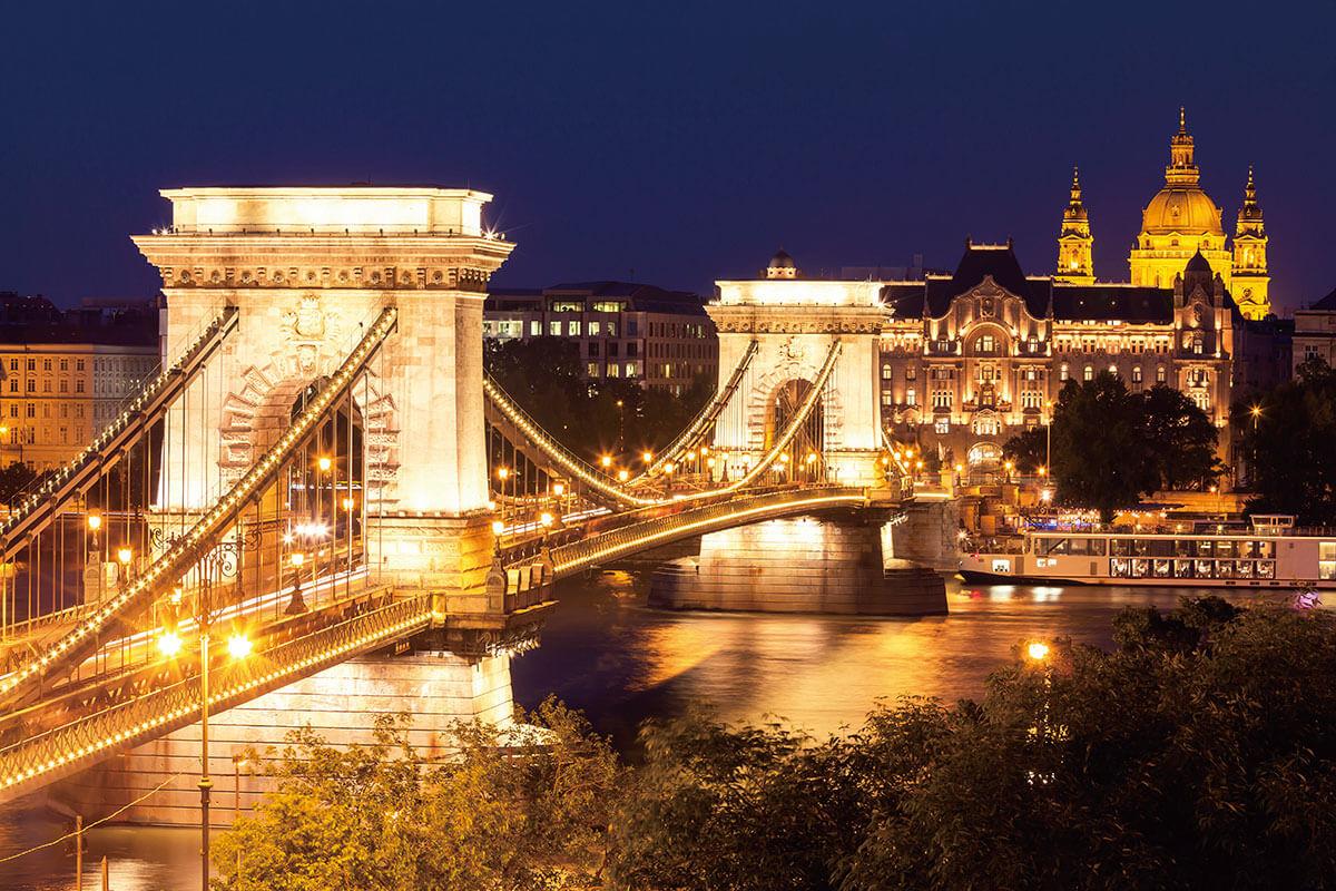 セーチェーニ鎖橋 くさり橋