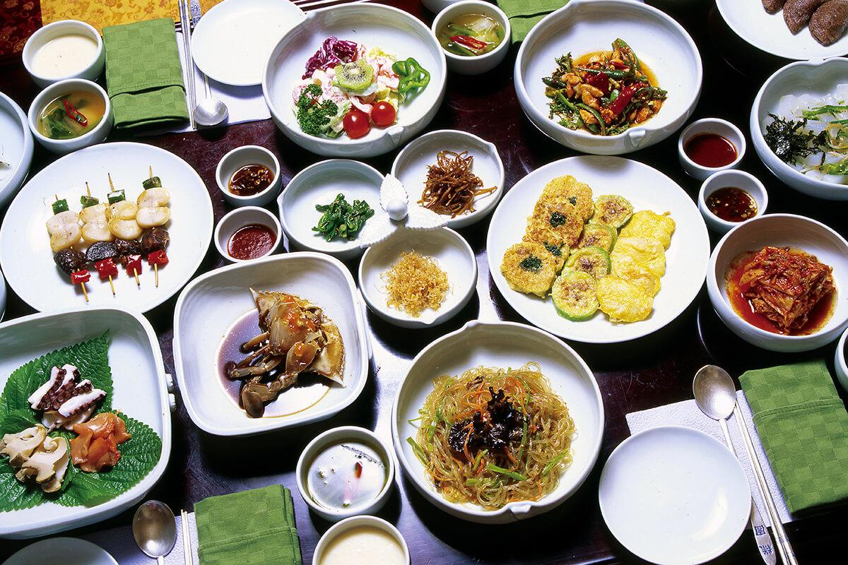韓定食(イメージ)