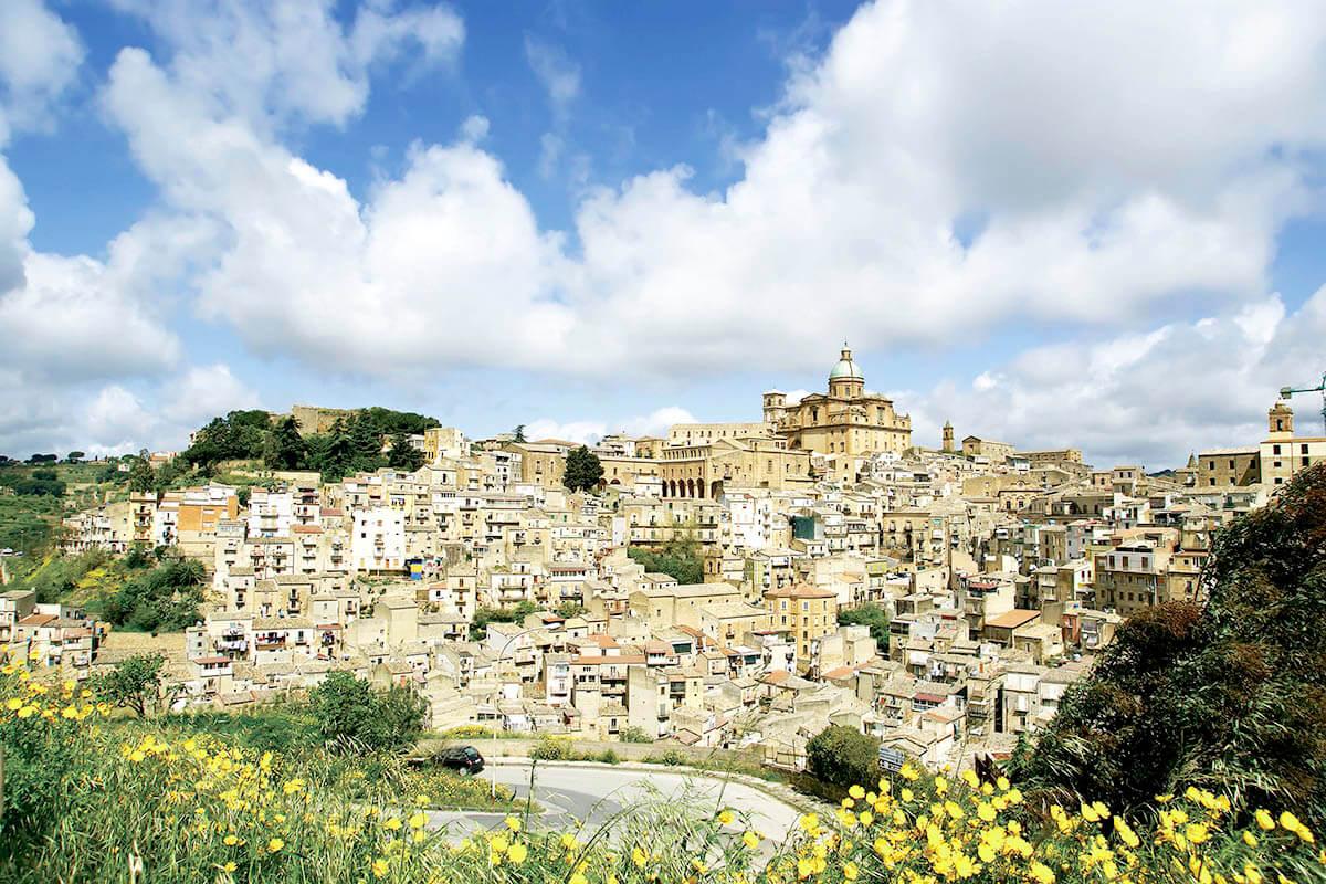 シチリア島 アグリジェントの街並み