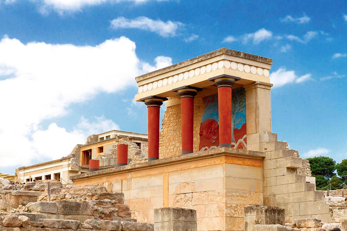 クレタ島 クノッソス宮殿