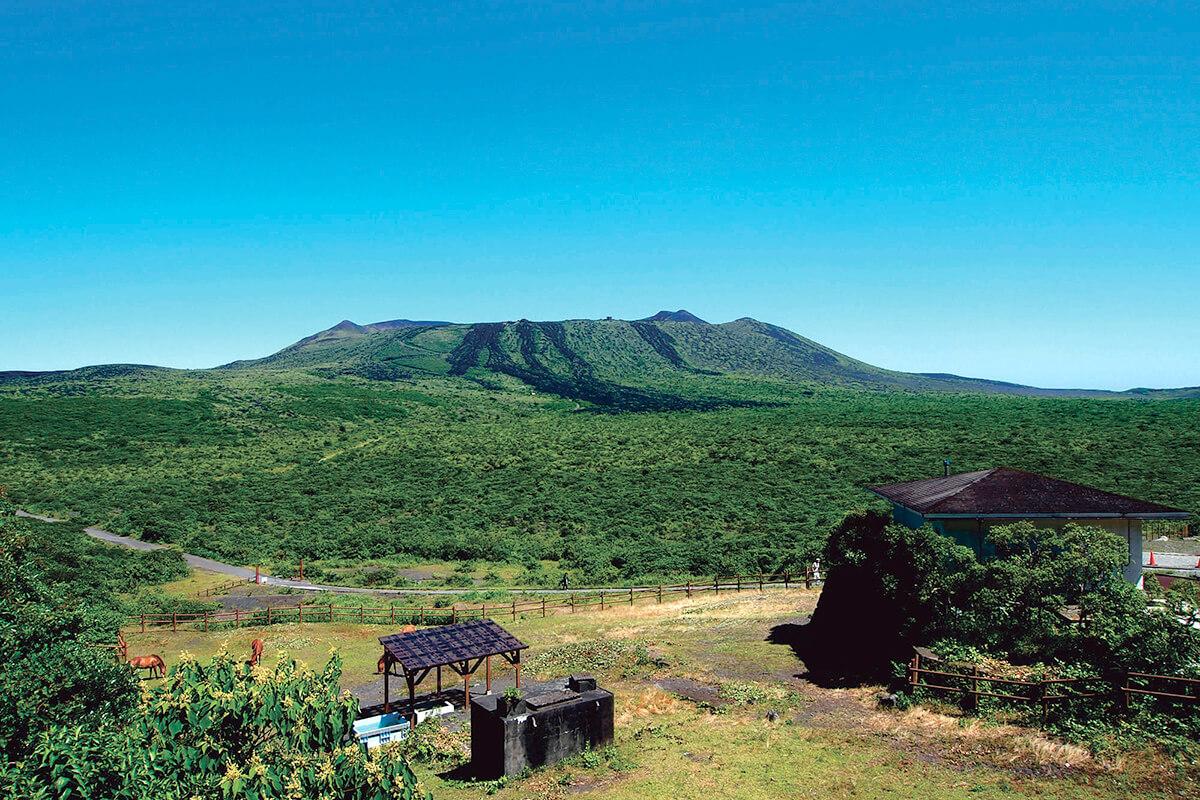 大島・三原山