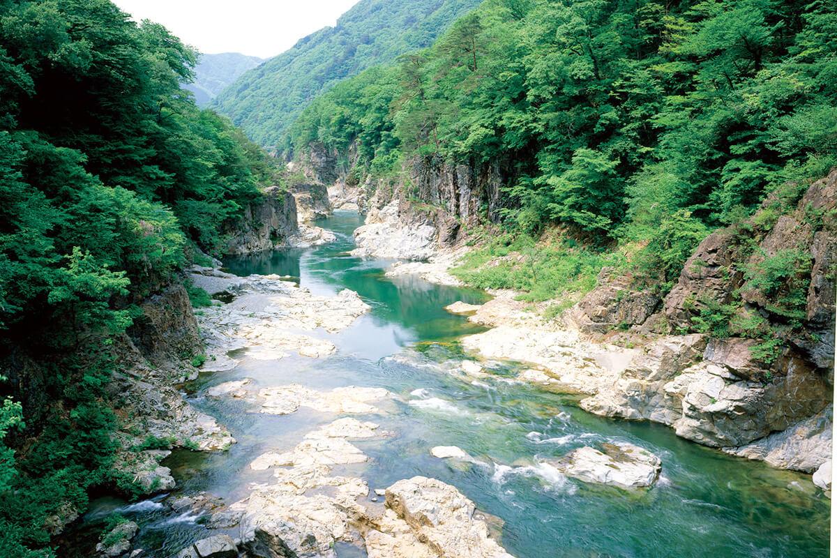 栃木県鬼怒川・龍王峡