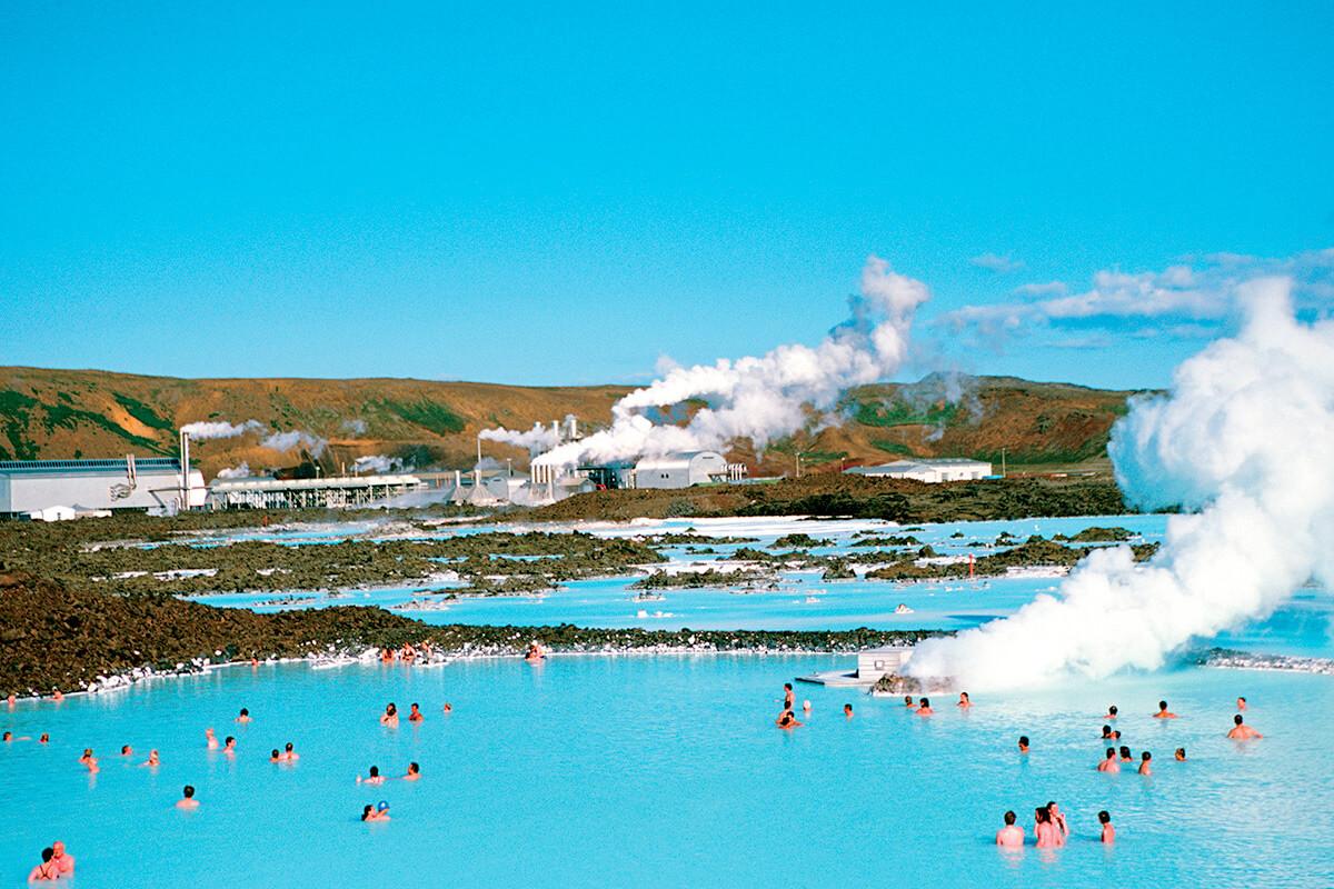 アイスランド ブルーラグーン