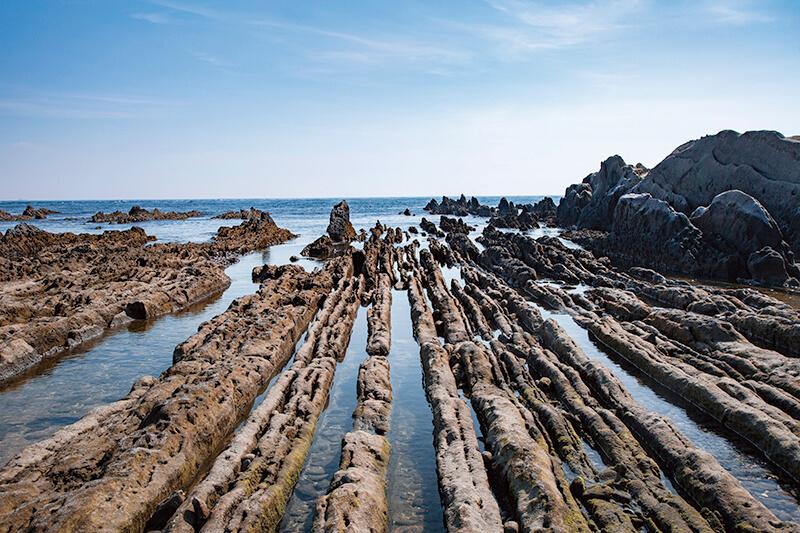 根本海岸 屏風岩