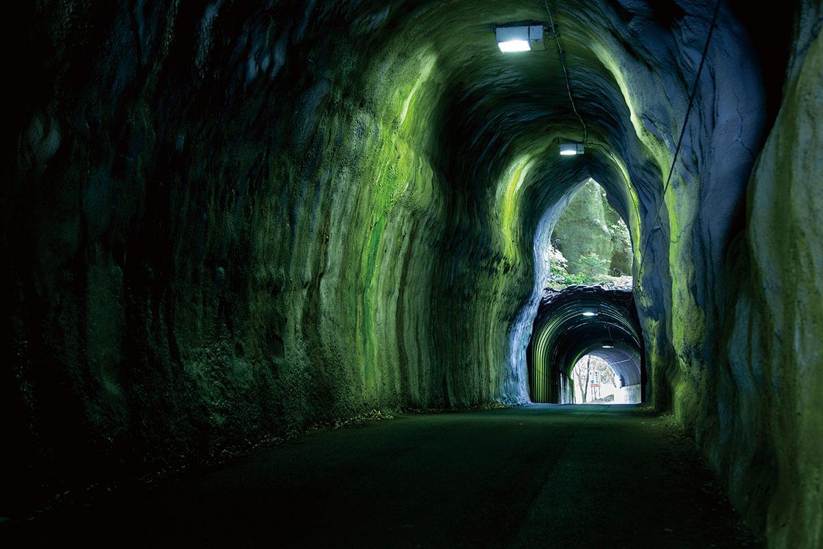 向山トンネル 二階建てトンネル