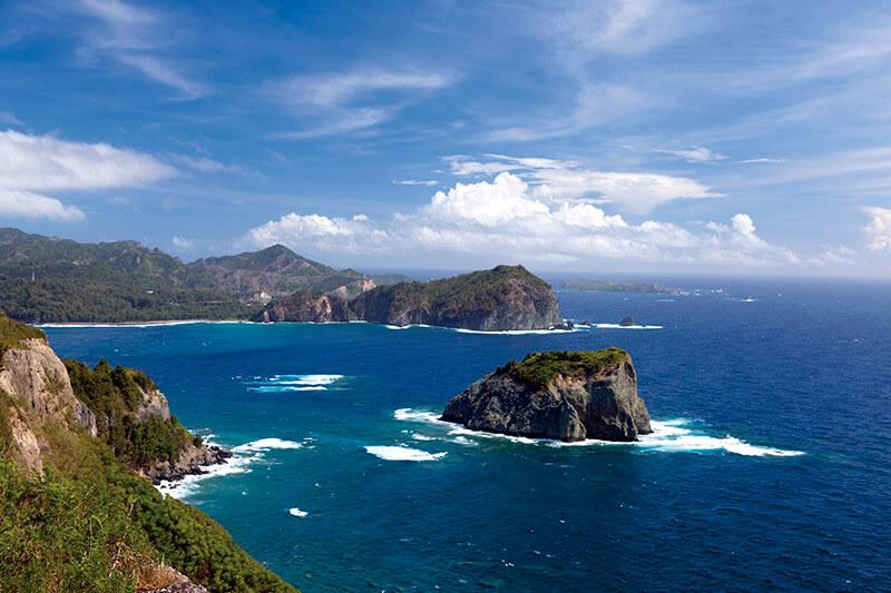 小笠原諸島・父島のウェザーステーションからの眺め