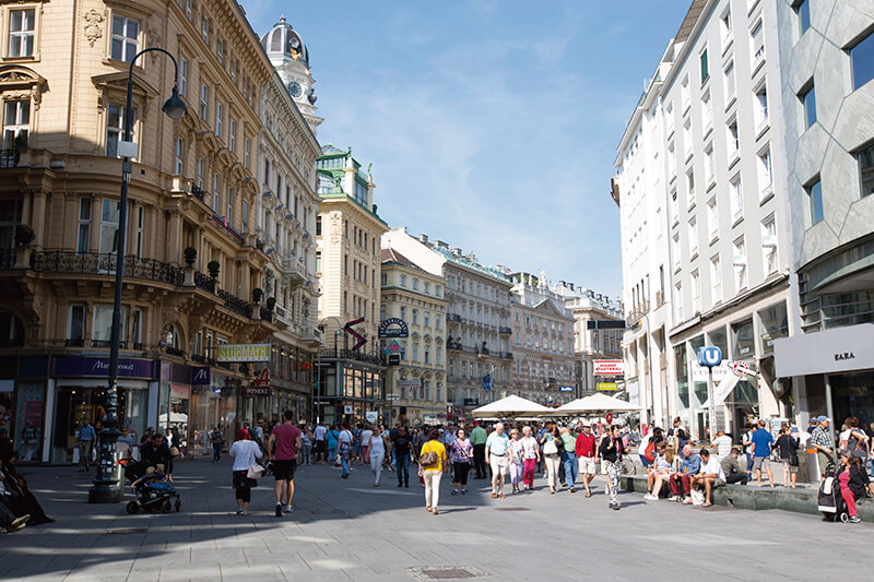 オーストリア ウィーン旧市街
