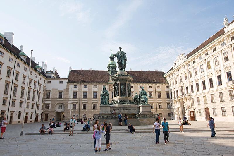 オーストリア ホーフブルク宮殿