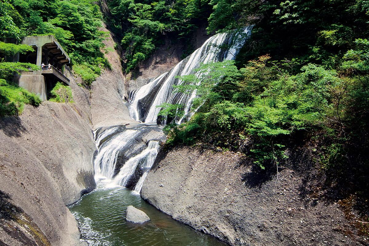 袋田の滝 夏