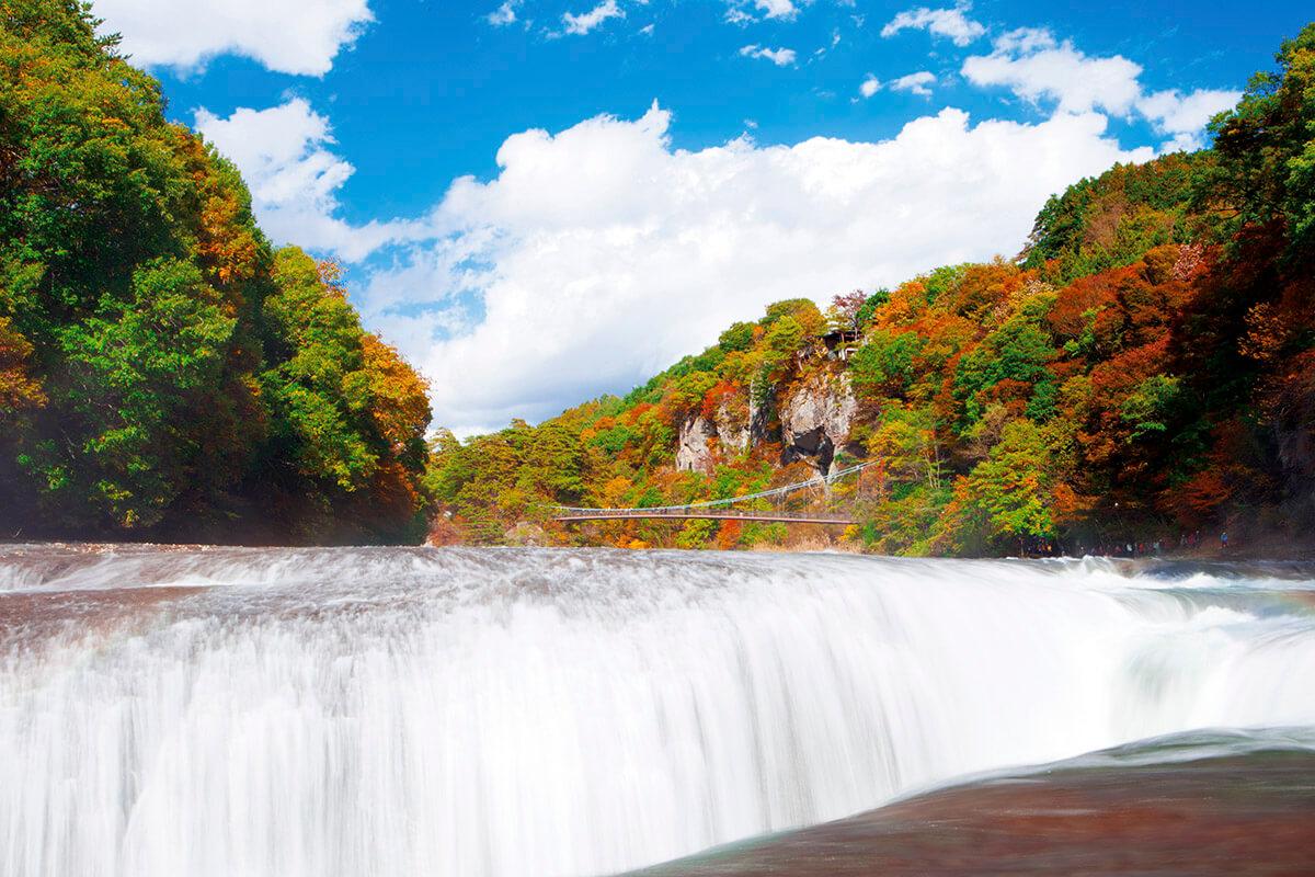 吹割の滝・紅葉