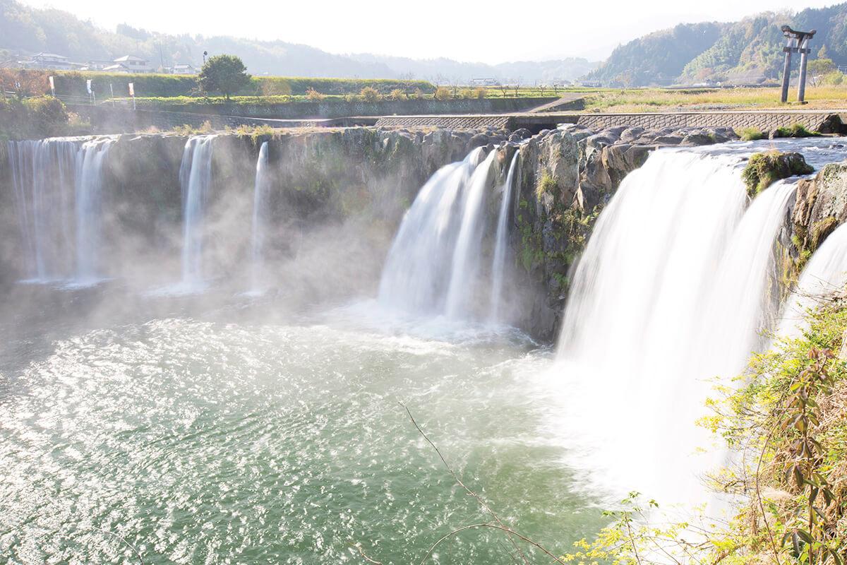 大分県豊後大野市 原尻の滝
