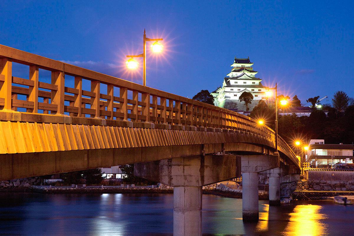 唐津城 ライトアップ