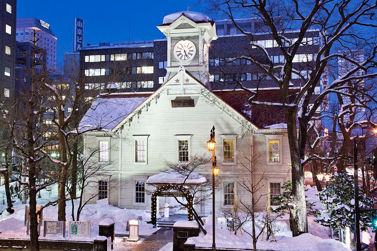 札幌市時計台 2014年撮影