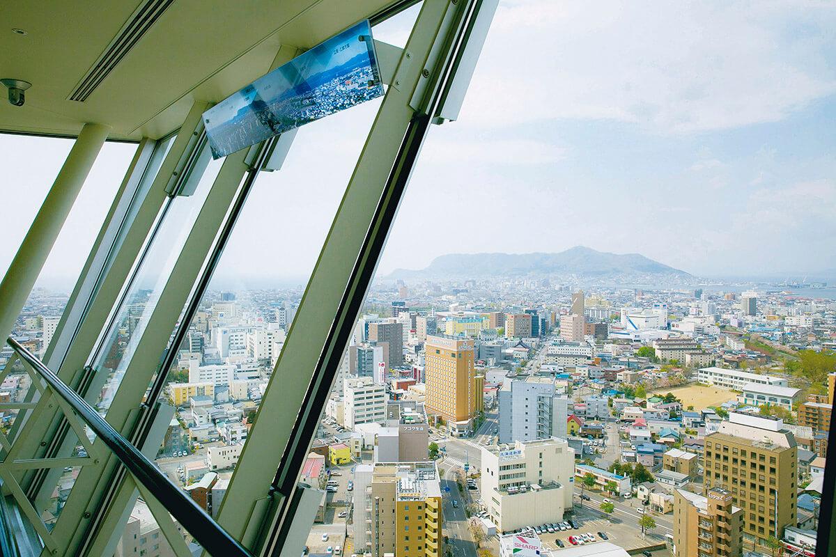 五稜郭タワー 展望フロア