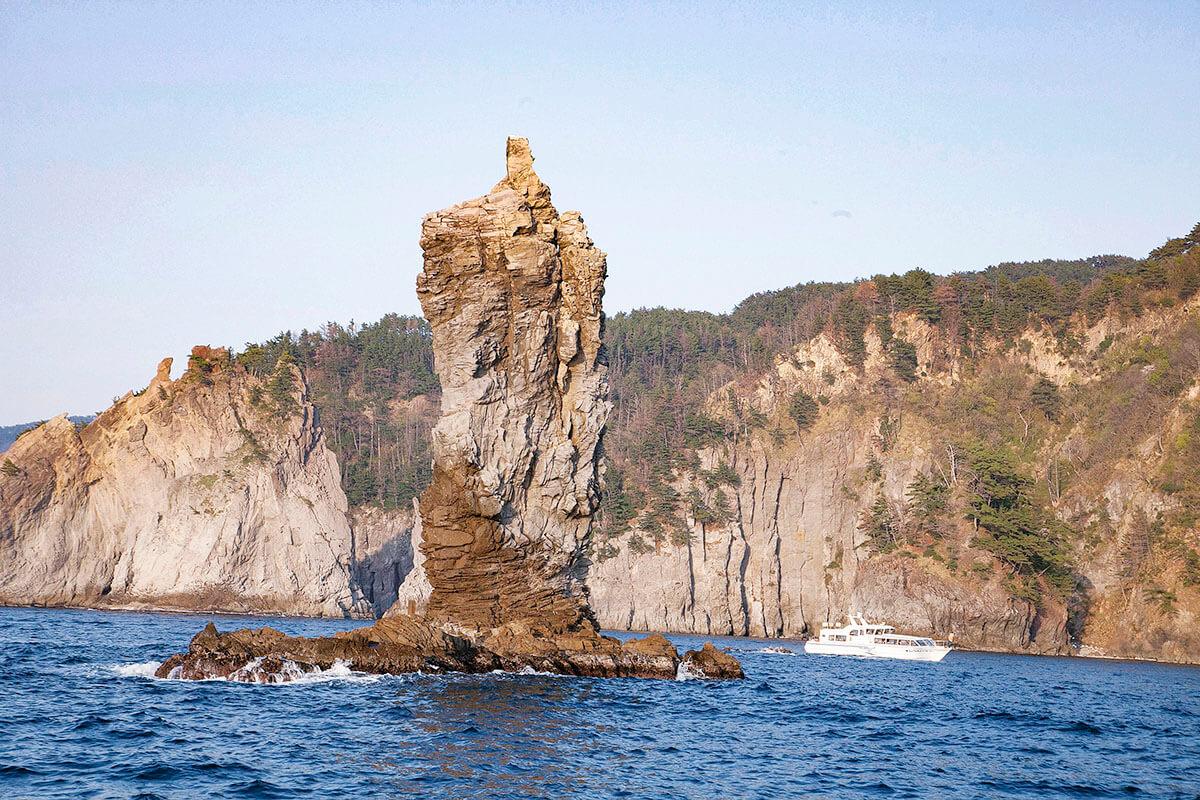 ローソク島 遊覧船