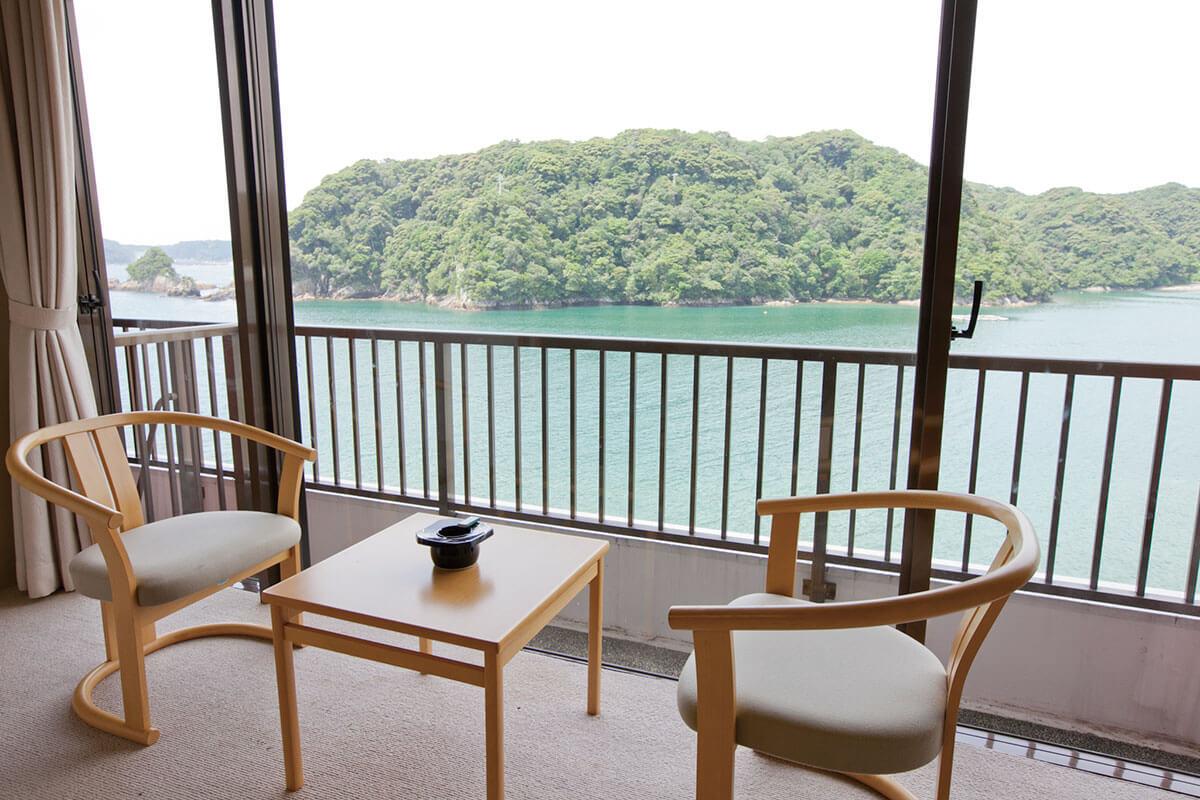 碧き島の宿 熊野別邸 中の島 客室(一部)