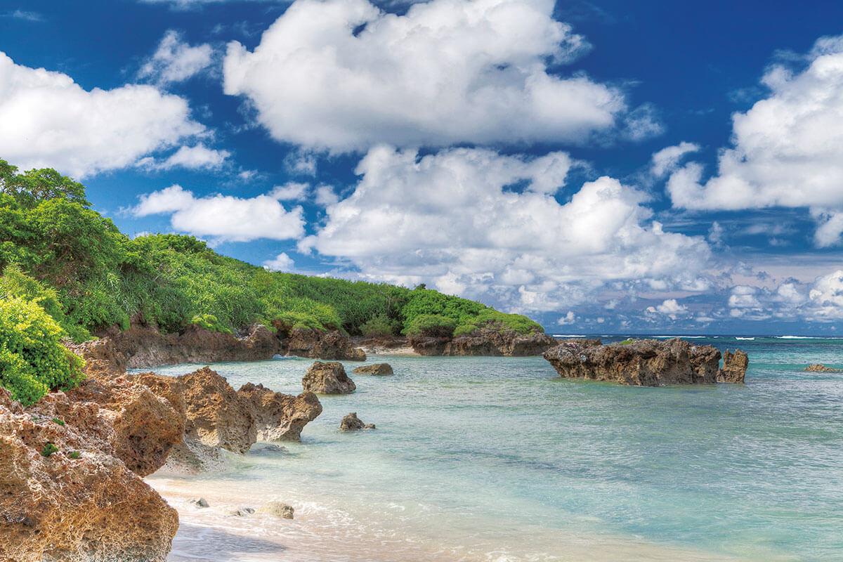波照間島 ブドゥマリ浜