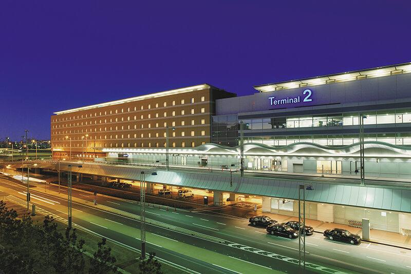 羽田エクセルホテル東急 外観(夜)