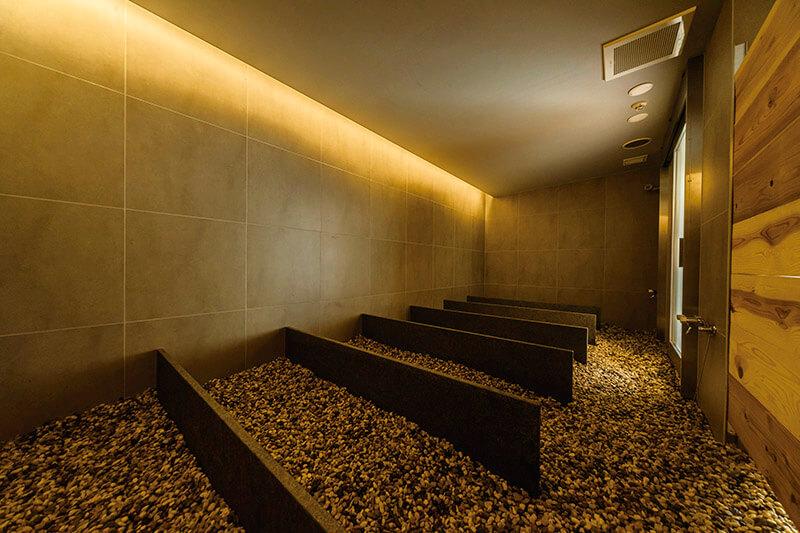 アクアイグニス ルフロ ミネラルミスト浴 室内