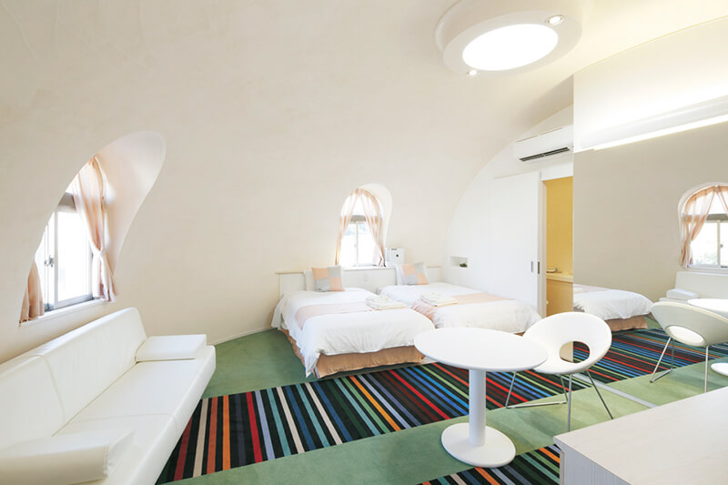 とれとれヴィレッジ ファンタジックゾーン 客室(一例)