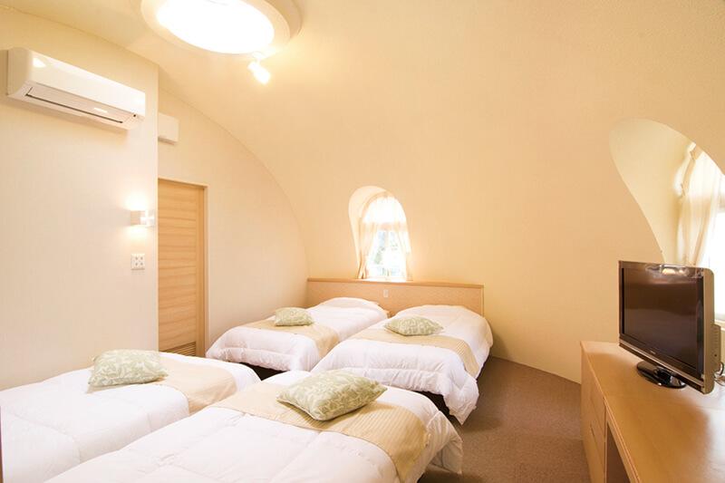 とれとれヴィレッジ メルヘンゾーン 客室(一例)