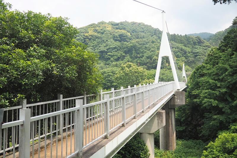 加茂ゆらりんこ橋 photo by マッキー