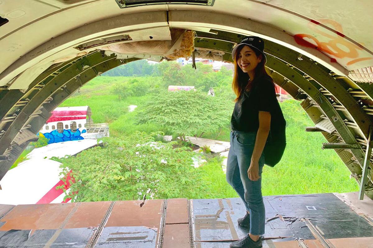 飛行機の墓場
