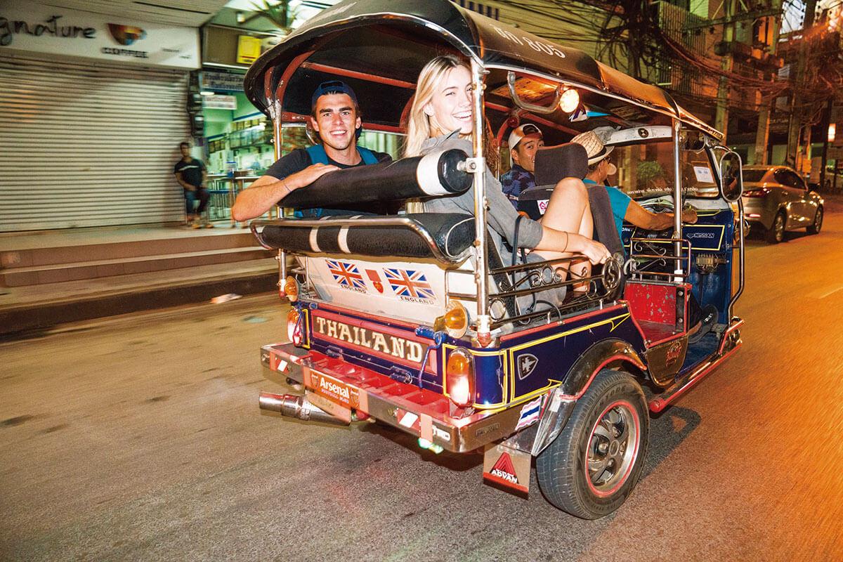 コンチキツアー タイ