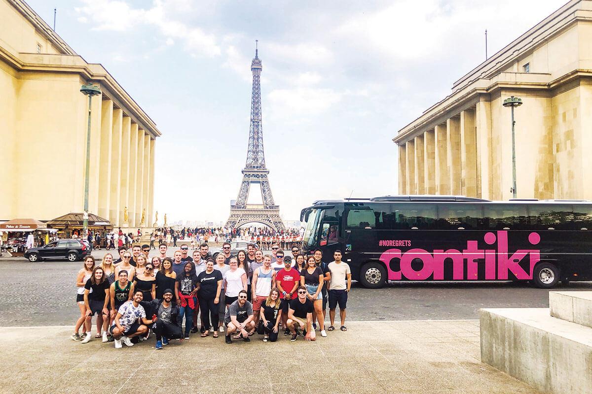 コンチキツアー フランス パリ