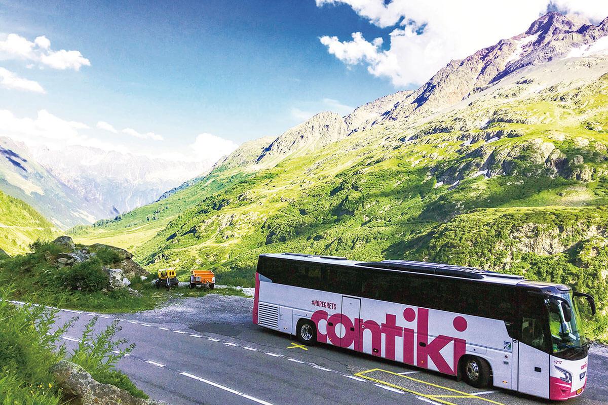 コンチキツアー バス